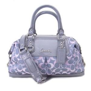 coach handbag lavender