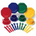 pretend play dishes cutlery