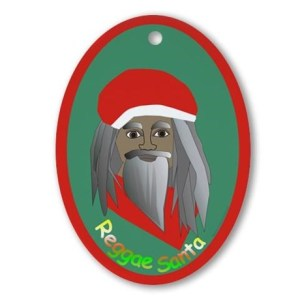 reggae_santa_oval_ornament