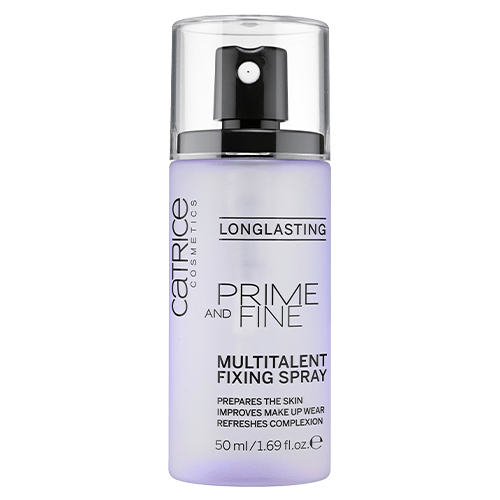 Catrice Cosmetics Prime and Fine Multitalent Fixing Spray