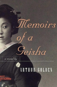 Memoirs of a Geisha by Author Golden Book Cover