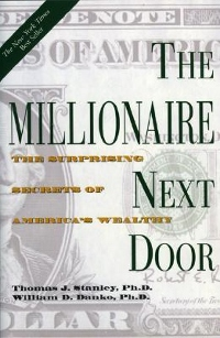 The Milionaire Next Door y Thomas Stanley and William Danko Book Cover