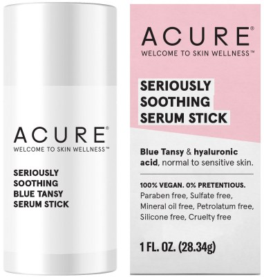 Acure Seriously Soothing Serum StickClarisonic Sensitive Brush Head