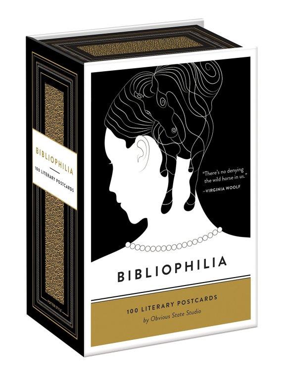 Bibliophilia Literary Postcards