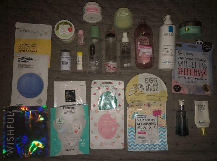 December 2020 Skincare Empties