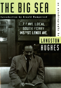 The Big Sea by Langston Hughes Book Cover