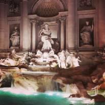 Trevi Brunnen
