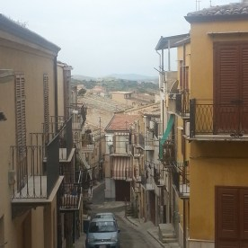 Straße in Corleone