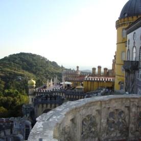 Einer von vielen Palästen in Sintra