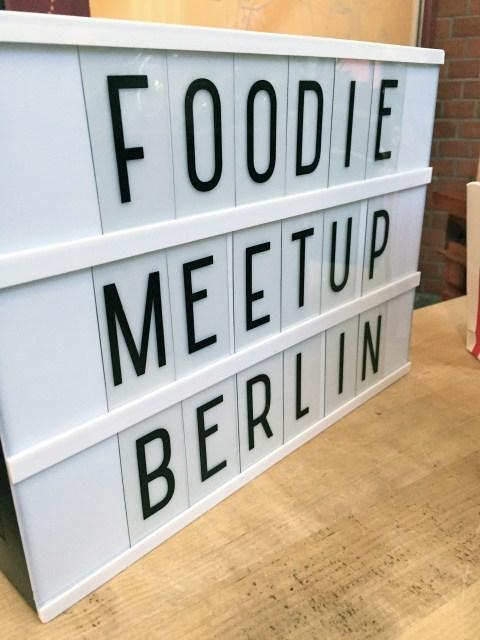 Willkommen zum 5. Foodie Meetup Berlin