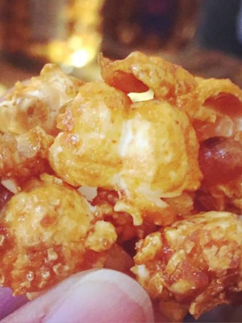 Gourmet Popkorn von Knalle: Barbecue Rauchmandel