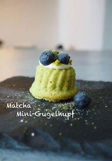 Mini-Gugelhupf mit Matcha