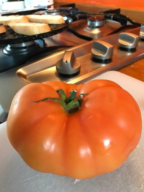 Auf den Kanaren schmecken die großen Tomaten vom Feld auch im Winter intensiv.