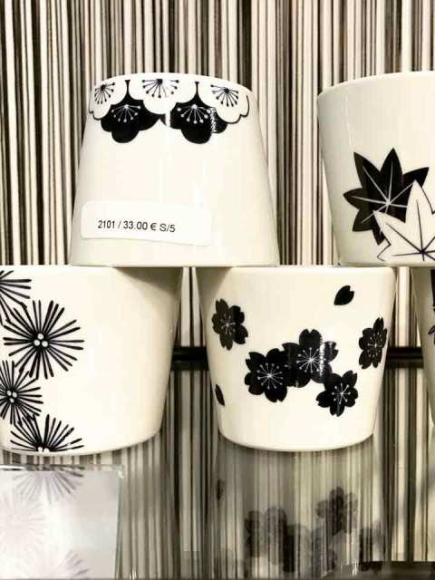Ich liebe diese strengen japanischen Muster und Formen.
