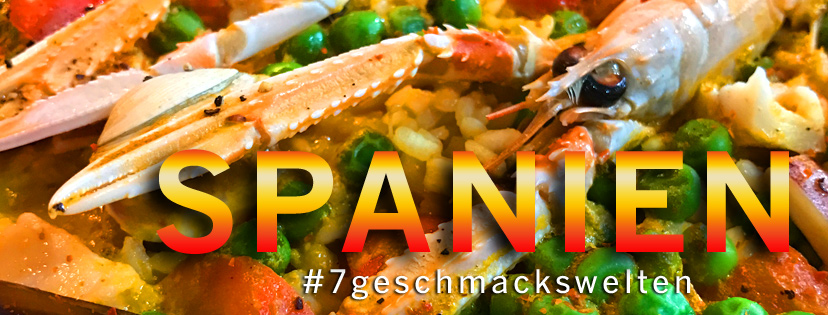 Die 7 Geschmackswelten kochen im Mai Spanisch.