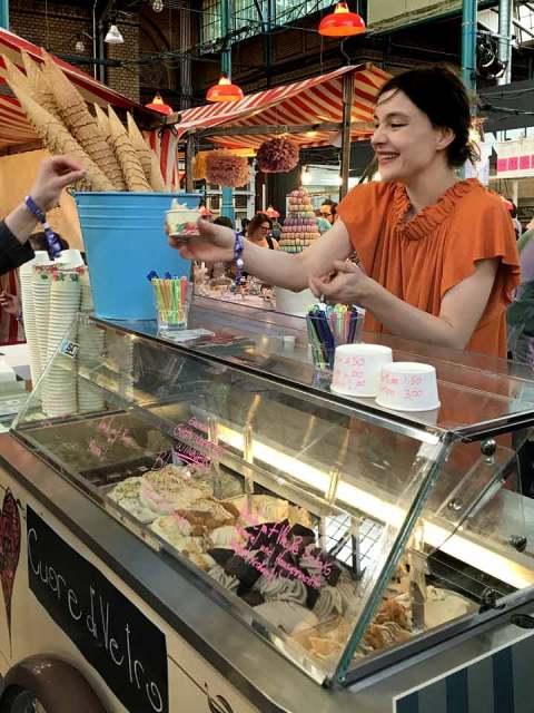 """""""Cuore Di Vetro"""", die letztjährige Gewinnerin des Sommer-Eis-Naschmarkts."""