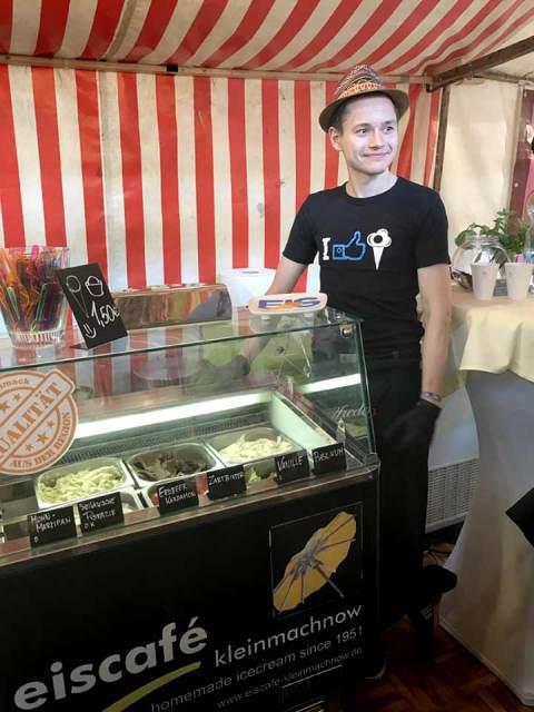 """Das """"Eiscafé Kleinmachnow"""" hat Tradition und frische Ideen."""
