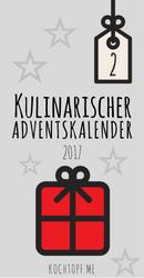 """Kulinarischer Weihnachtskalender 2017 - Beitrag von Katja kocht am 2. Dezember """"süße Weihnachts-Mochi"""""""