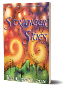 Book Cover: Stranger Skies (The Borderlands Saga #1)