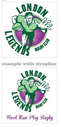 London Legends Logo IDEA 3