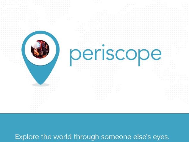 Periscope: Explore the world through someone else's eyes