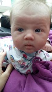 Baby at six weeks