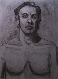Life Drawing in Charcoal - Male