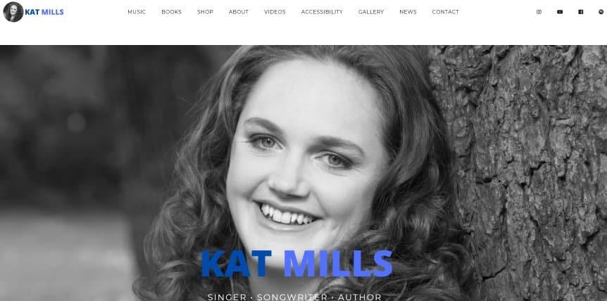 Kat's New Web Site