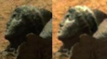 apollo head on mars