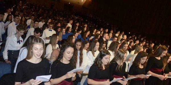 Održana smotra zborova katoličkih gimnazija