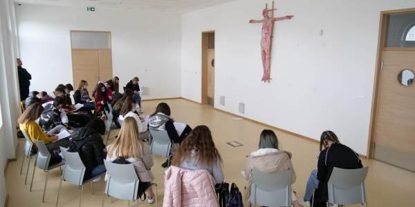 Održana korizmena duhovna obnova za učenike Katoličke gimnazije u Požegi