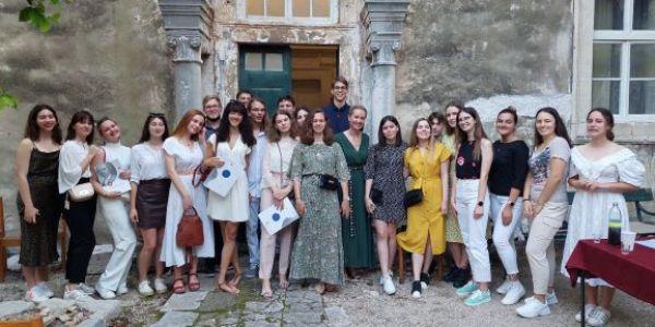 Podjela svjedodžbi maturantima Biskupijske klasične gimnazije u Dubrovniku
