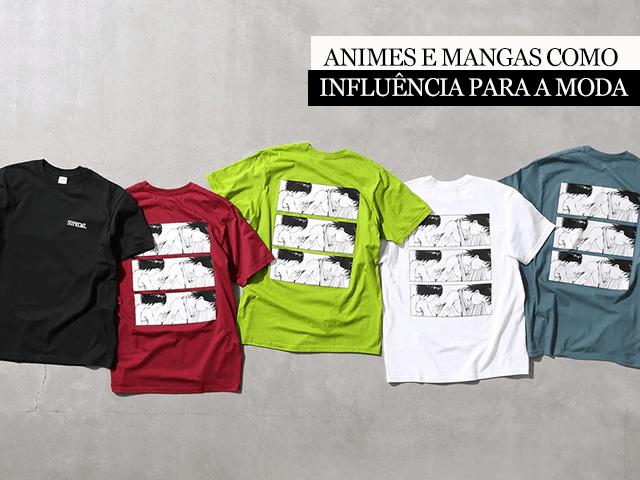 Animes e mangas como influência para a moda