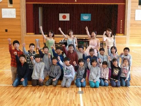 2015.10.14 岐阜県 宮川小学校での音楽会
