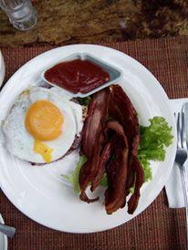 Bacon rice