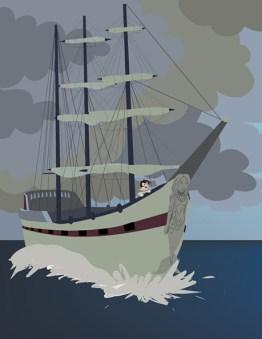 Illustrator Illustration. Page 2 of La Jolla's Mermaid.
