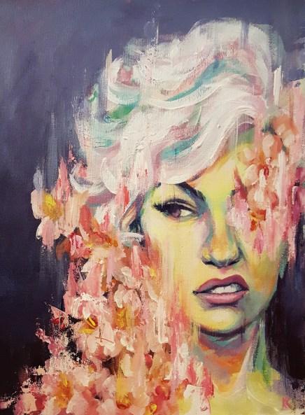 """Acrylic on canvas 12"""" x 16"""""""