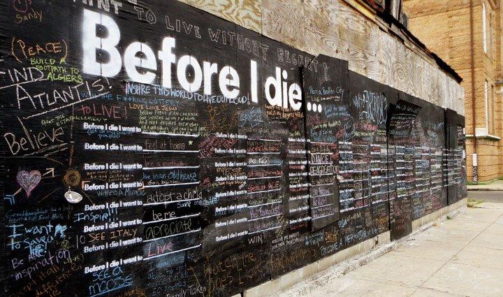 Art Before I Die