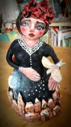 Angel of Dreams (paperclay)