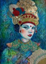 Baliese dancer