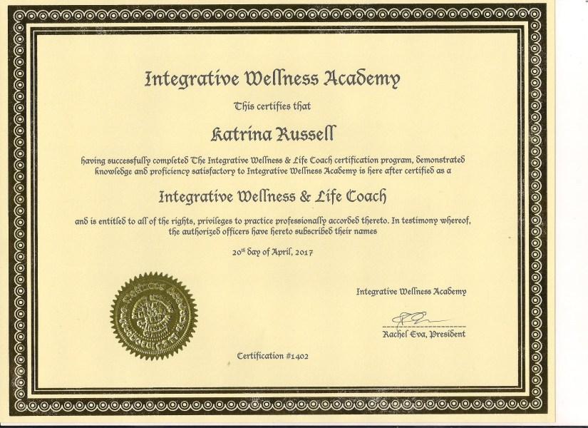 certificate 001