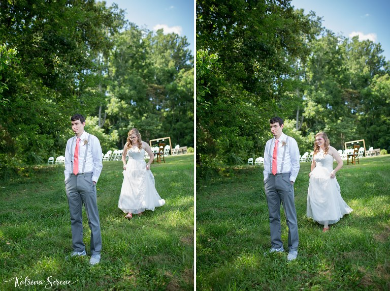 Backyard Chuckey Wedding Katrina Serene Photography