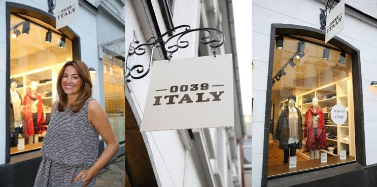 Der PopupStore in Düsseldorf samt Designerin Aysen Bitzer
