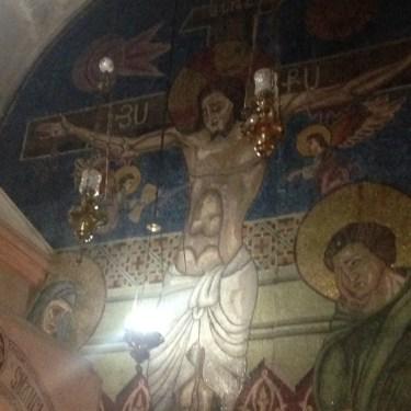 Golgotha- hier stand das echte Kreuz tatsächlich