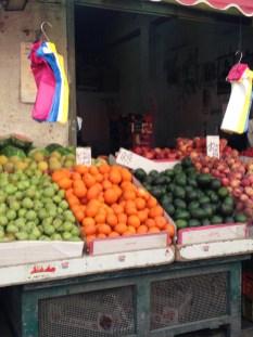 Obst auf dem Markt in Jerusalem