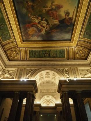 Decke im Louvre Foto. Michaela Burch