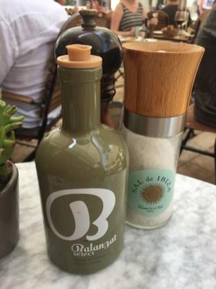 Im Locals only werden es nur Produkte aus Ibiza verwendet