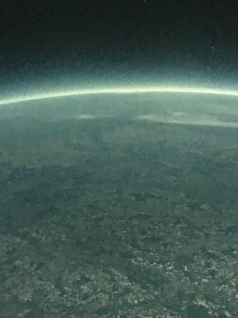 Unsere Erde vom All aus gesehen