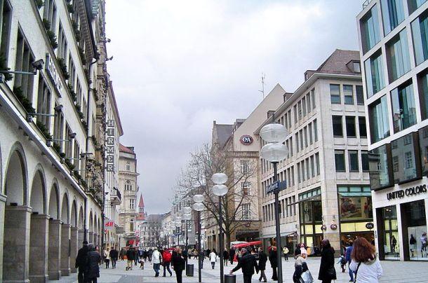 Kaufinger Strasse , das triste Herz Münchens