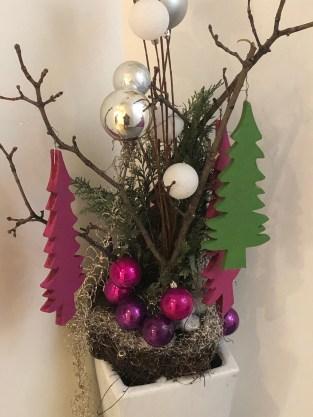 Weihnachtsdeko im Hotel Villa Verde